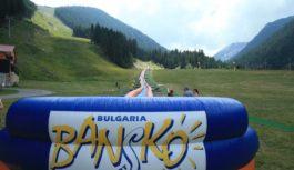 В Банско можете да се насладите на най-дългата водна пързалка в Европа